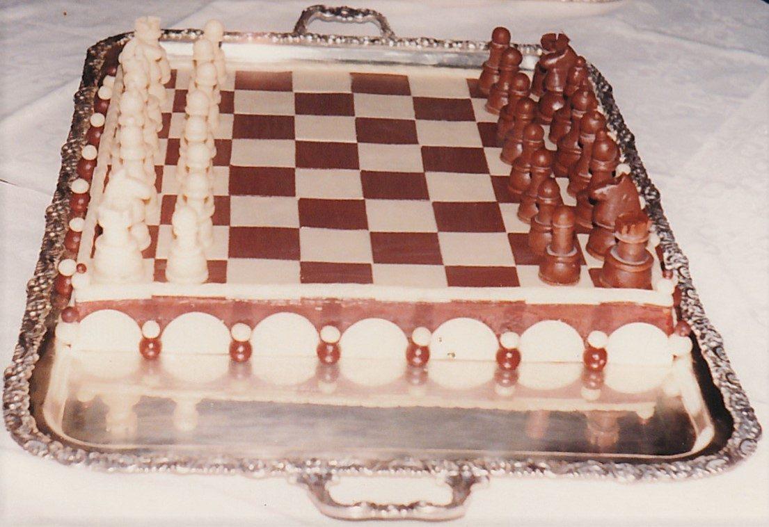 Hladni eksponat Šah od marcipana