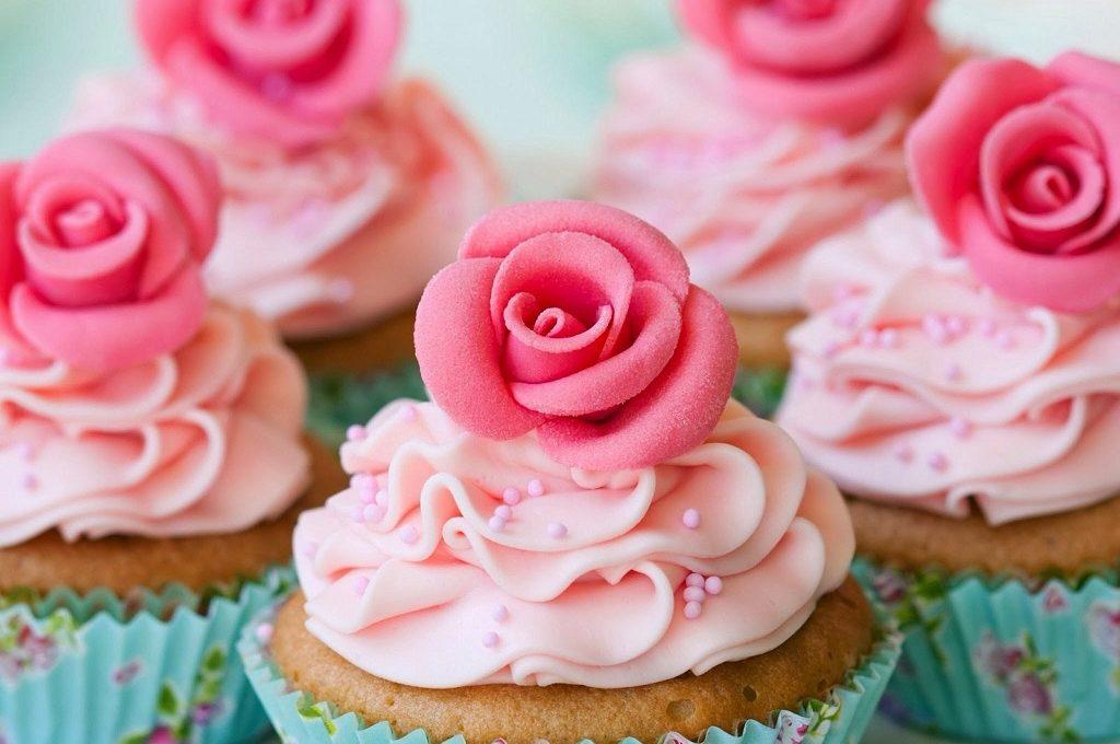 Cupcake s malinama