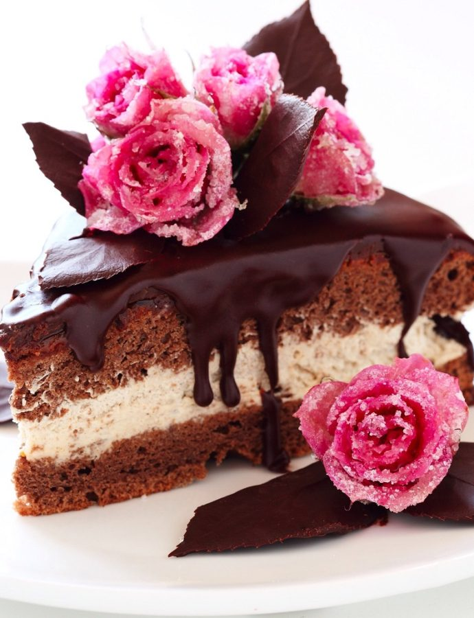 Čokoladna torta s vanili kremom